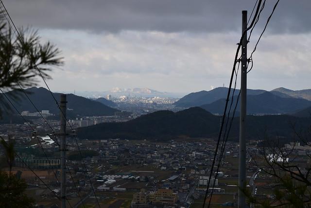 東坂参道から