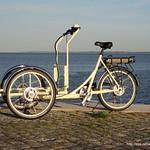 Triciclo Christiania, pedelec, s/ caixa