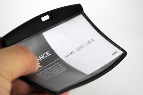 SONiC ソフトケース&リールストラップ