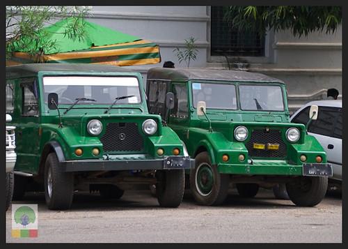 Mazda Pathfinder Station Wagon XV-1 SW 4x4 Myanmar (Burma) Military Mazda Jeep 6