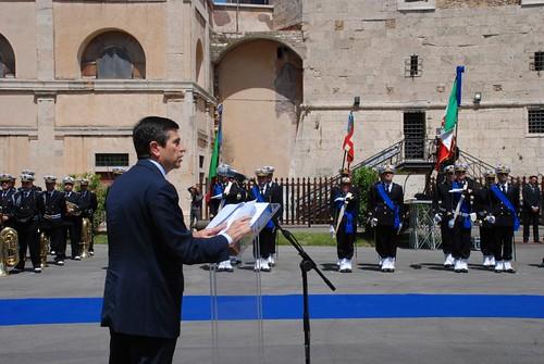 Ministro Maurizio Lupi a Civitavecchia per il passaggio di consegne del Comandante Generale delle Capitanerie di Porto – Guardia Costiera (5)