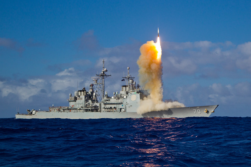 USS Lake Erie Intercepts SM-3 Block IB Missile