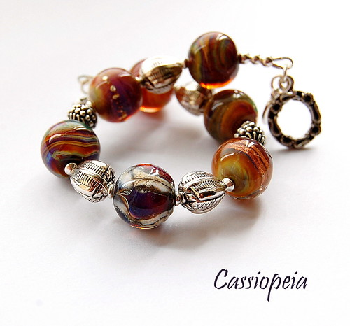 Cassiopeia Bracelet by gemwaithnia