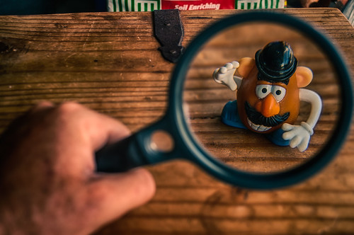 Up Close With Mr. Potato Head by hbmike2000