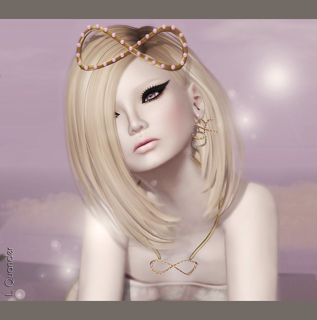 C88 June Glam Affair - Margot - Petal 02 - Blonde  & LaGyo_Aiko headpiece