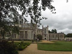 Highcliffe Castle - garden to left, entrance straight ahead