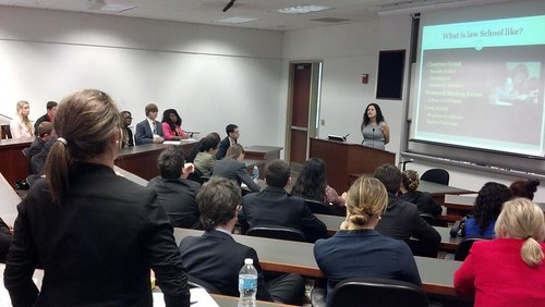 NSLC LAWA Visits University of Maryland Law School