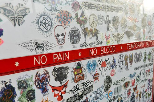 No Pain, No Blood