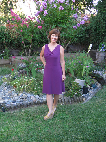 V1351 Purple dress