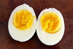 2-minute hard boiled egg