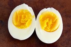 2-minute hard boiled egg