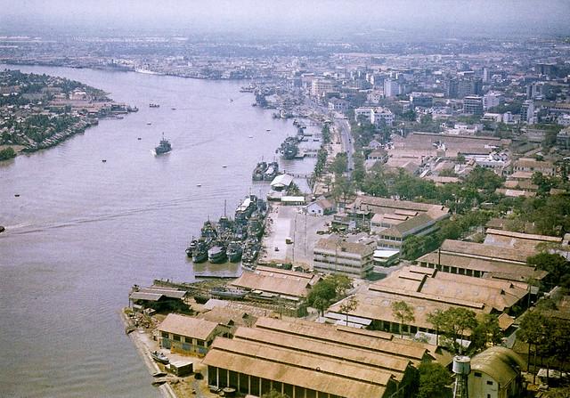 Sông Saigon - Photo by flynariel