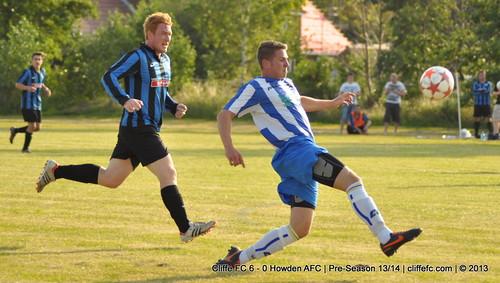 Cliffe FC 6 - 0 Howden AFC (Pre-Season) 18Jul13