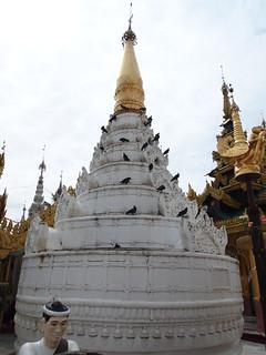 Image of  Shwedagon Pagoda  near  Shwedagon Pagoda. travel pagoda asia seasia southeastasia buddha shwedagon yangon burma buddhist religion buddhism myanmar dagon shwedagonpagoda rangoon shwe