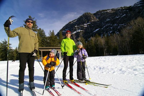 Methow Valley Cross Country Ski Trails family