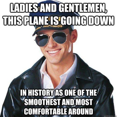 pilot -funny junk
