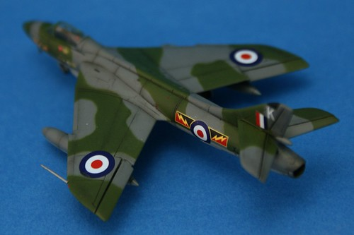 Revell 1/144 - Hawker Hunter FGA.9 - No.4 Sqd - Completed 6
