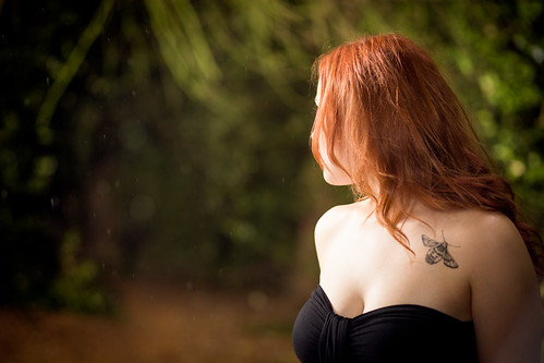 Rainfall - Alternate Take (Koochie Koo & Rain Bokeh), Shrub Hill Common by flatworldsedge