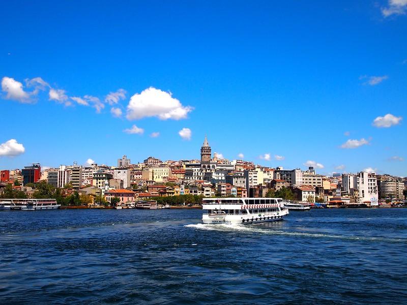 Ferry to Kadikoy - Istanbul, Turkey