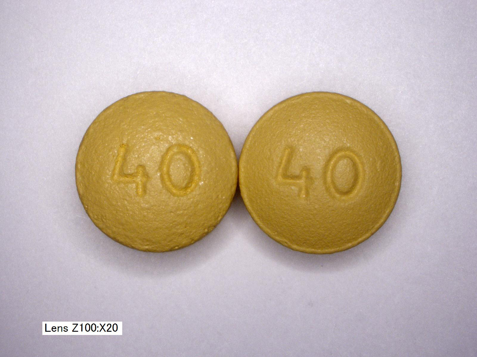 OxyContin OC vs OP 40mg back comparison