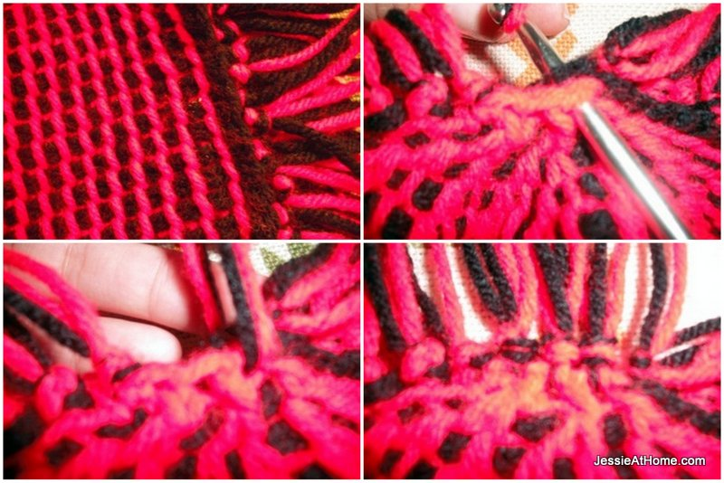 Moe-Tunisian-crochet-hat-adding-to-top