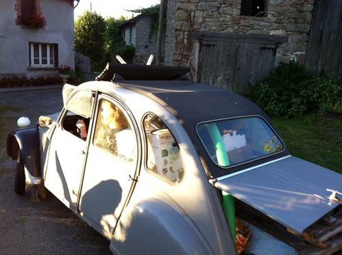 2cv ready to take of