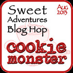 Sweet Adventures Blog Hop - Cookie Monster