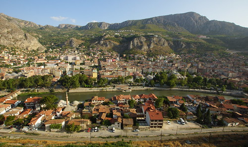 Amasya, as seen from the Pontic tombs by CharlesFred