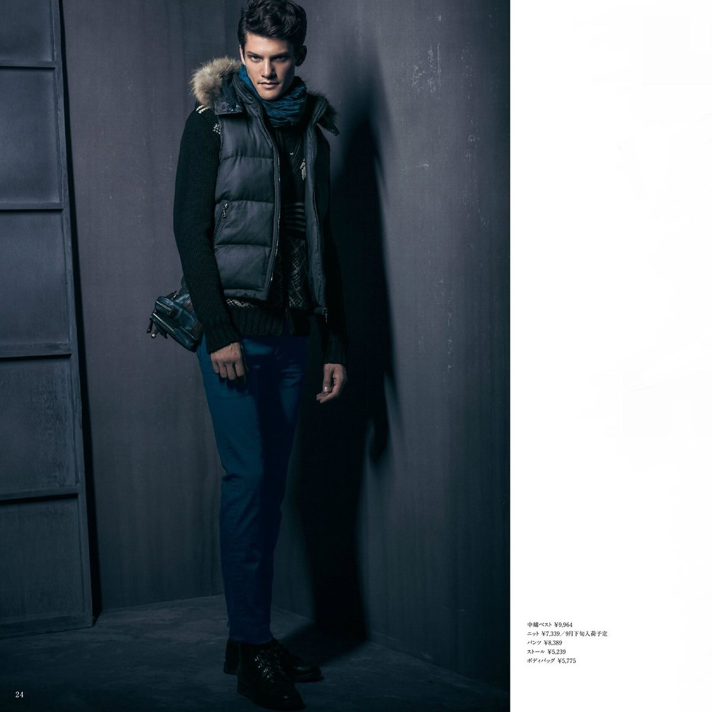 m.f.editorial Men's Autumn Collection 2013_003Danny Beauchamp, Kye D'arcy