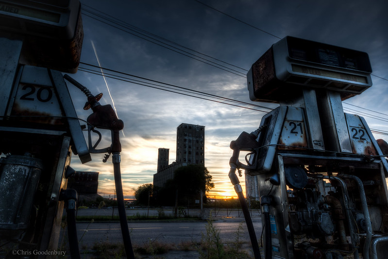 They Stood and Watched As the Sky Turned to Fire-Light | Sam's Petro USA