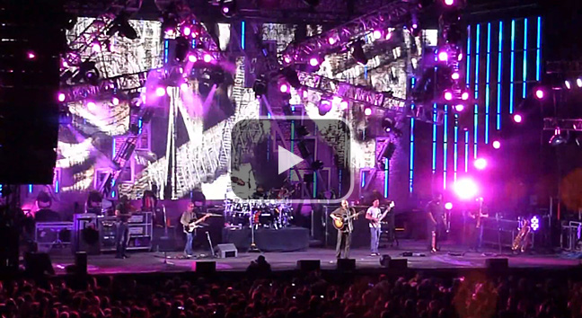 'Rapunzel' - The Dave Matthews Band, The Gorge 31 August, 2012.