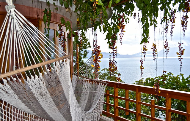 Our Porch and view, Balam Ya, Luxury Villas, Lake Atitlan, Guatemala
