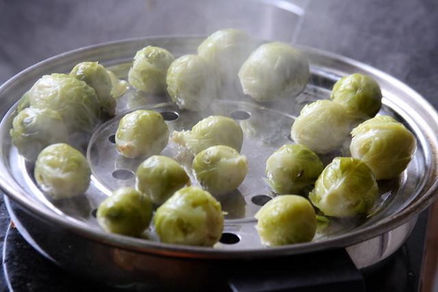 Salteado de Vegetales, jamón y Almendras (12)