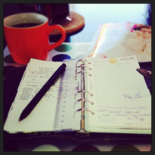#fflovephotoaday - Day 3: Where's your planner now?