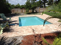Finished New Inground Swimming Pool by Pool Doctor of the Palm Beaches