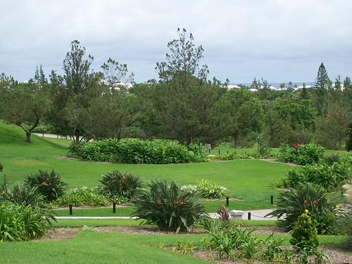 The Bermuda Botanical Gardens.