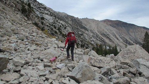 Backpacking to Barney Lake