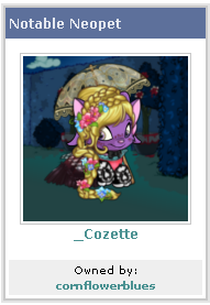 Cozette Screenie