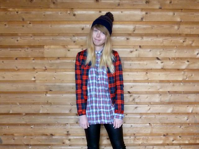 Outfit post - Tartan