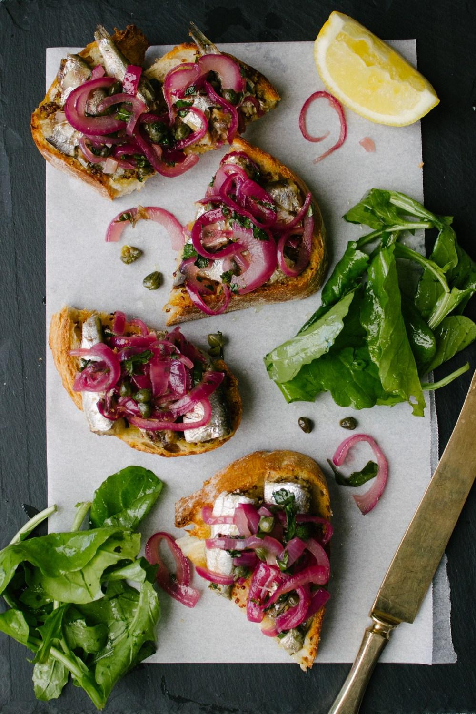 Fancy Tinned Sardines on Toast | Simple Provisions