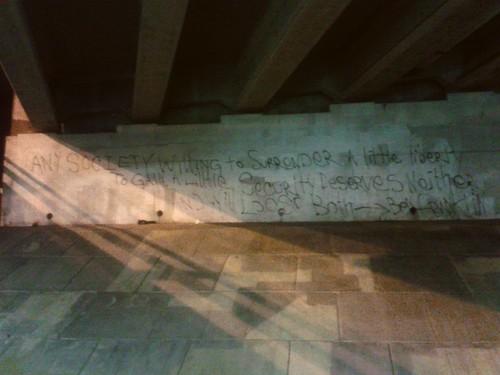 Under the Rudee Bridge (Sept 17 2013)