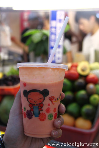 Papaya Milk Juice, Shilin Night Market