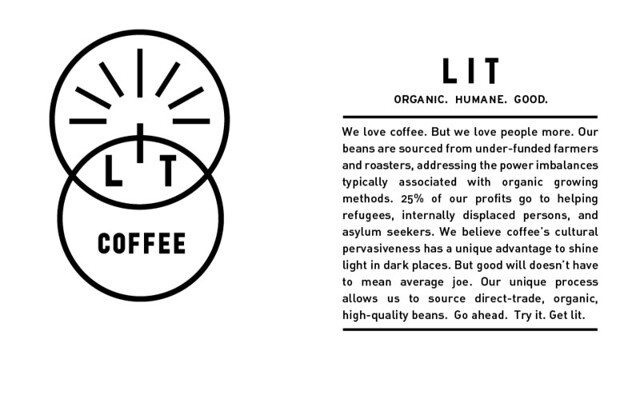 description of lit coffee