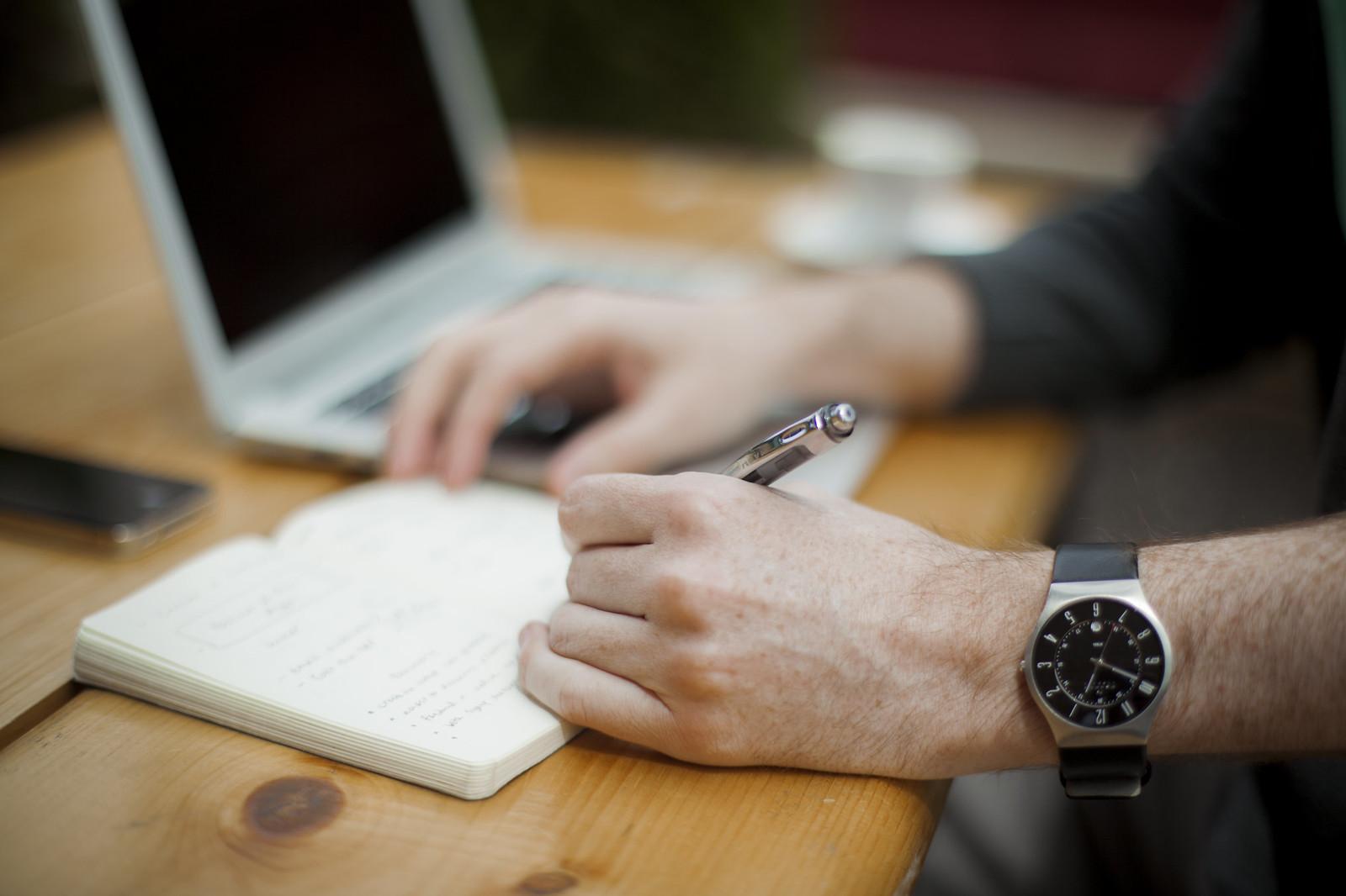 Escribiendo en la Agenda