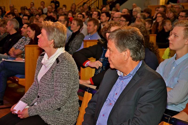 Brassbandfestivalen 2013 - Berit Palmquist och Tom Brevik (Foto: Olof Forsberg)