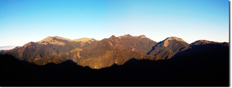 雪山西棱(From 佳陽山3116峰) 1