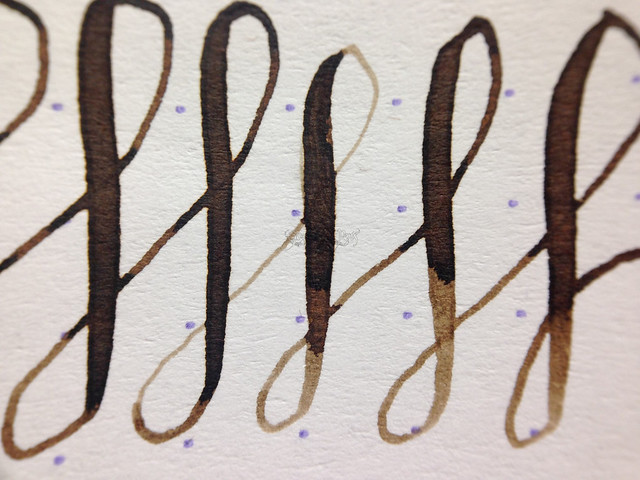 @Kaweco Sepia/Caramel Brown Ink @JetPens Flex