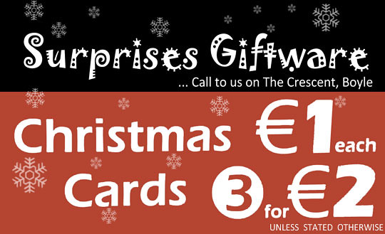 Surprises Giftware Christmas Cards