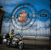 Sunderland AFC, the gates and motorbikes. by CWhatPhotos