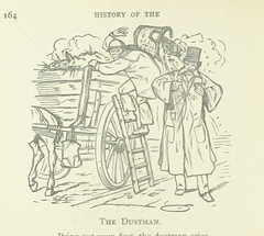"""British Library digitised image from page 210 of """"A History of the Cries of London, ancient and modern. (Woodcuts by T. and J. Bewick, etc.)"""""""